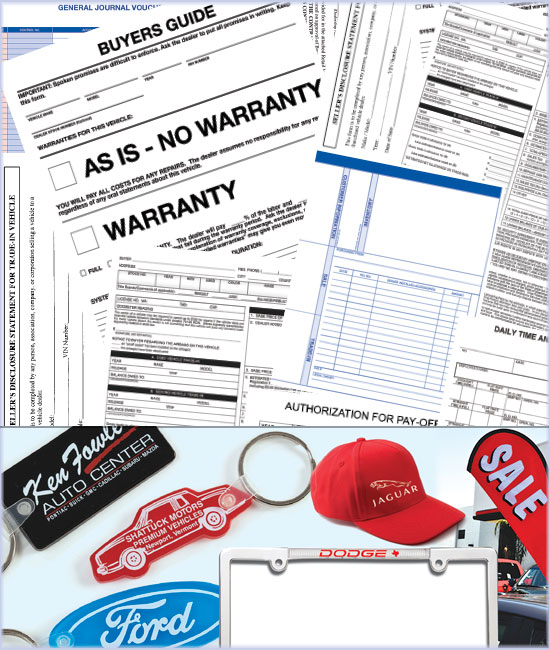 automotive forms & supplies